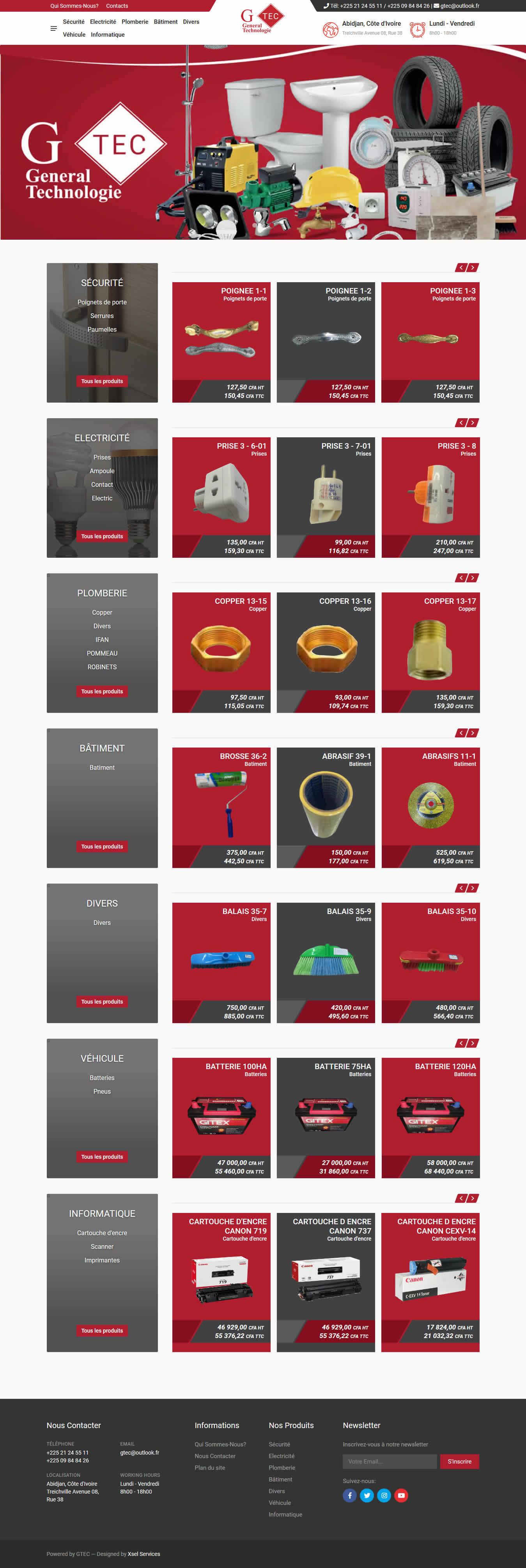 Web Design - GTEC