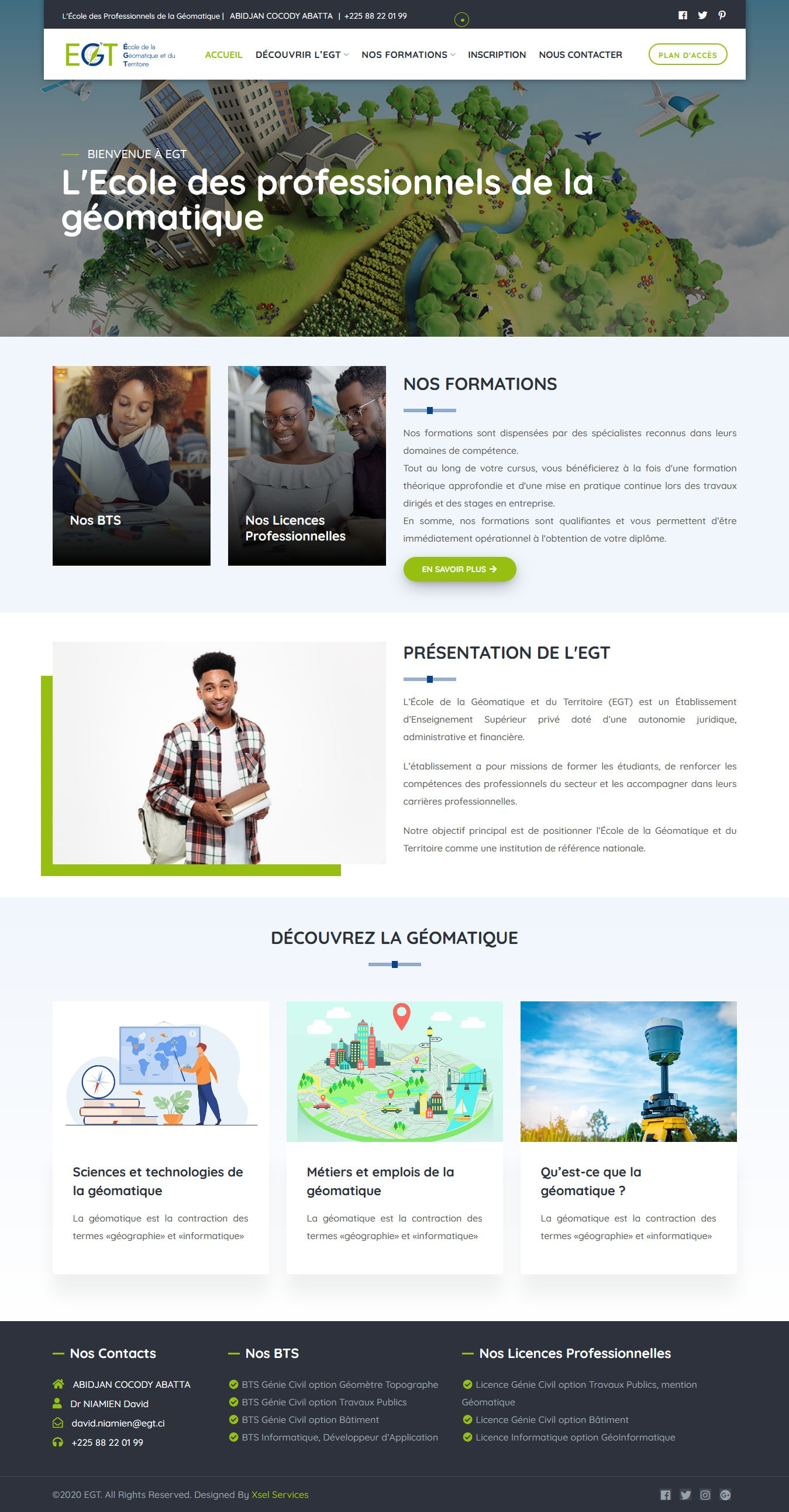 WEB DESIGN - EGT